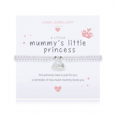 Joma Jewellery A little MUMMY's LITTLE PRINCESS Childs Adjustable Threaded Bracelet